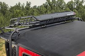 jeep grand cherokee kayak rack rugged ridge 11703 03 spartacus roof rack basket with deflector