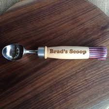 personalized scoop engraved scoops and scoop