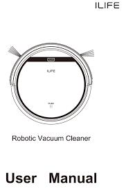 ilife v5 intelligent robotic vacuum cleaner 142 49 online