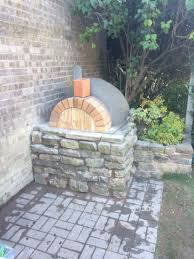 how to build an outdoor brick pizza oven step by step diy