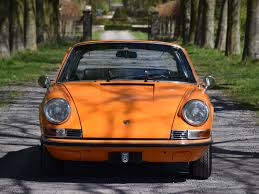 orange porsche targa 1971 porsche 911 2 2t soft window targa turn8 cars