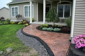 Patio And Garden Ideas Garden Path Ideas Stamped Concrete Modern Patio Landscape Ideas