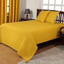 Yellow Throws For Sofas by Rajput Extra Large Cotton Throws For Sofas Settee Bedspread Bed