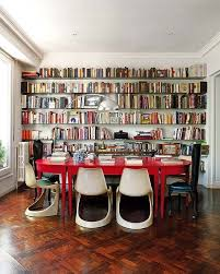 How To Build A Built In Bookcase Into A Wall 5 Ways To Fit A Home Library Into A Small Space Apartment Therapy