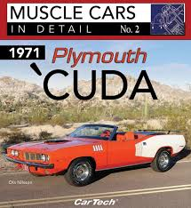 barracuda 1971 plymouth u0027cuda in detail no 2 book paint codes