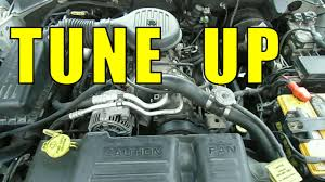 change spark plugs distributor cap and rotor tune up chrysler
