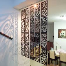 wall partition carved wood screen partition wall hanging entrancewayoffice room