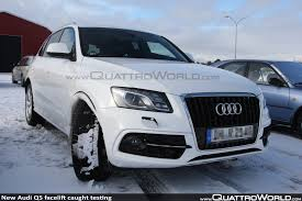 Audi Q5 Headlight - breaking new audi q5 facelift caught testing nearly undisguised