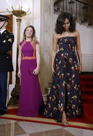 obama dresses obama s style evolution 30 most memorable gowns adorned