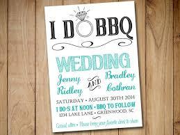 i do bbq wedding invitation template download blue teal black