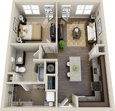 Best  Bedroom Flat Ideas On Pinterest Flat House Design - One bedroom designs
