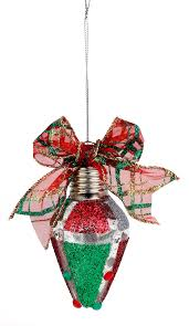 nicole crafts glitter panels bulb ornament ornaments craft