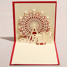 3d pop up cards such a beautiful idea for an invite tse 2015