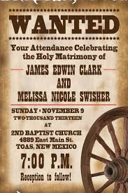 Ruby Anniversary Invitation Cards Awesome Western Wedding Invitations Western Wedding Invitations