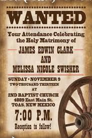 awesome western wedding invitations western wedding invitations