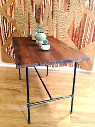 Distressed Wood Bar Cabinet Sofa Table Wooden Console Tables Living Room Beach Style