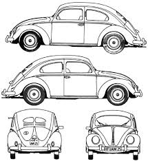 drawing beetle car colouring page drawing beetle car colouring