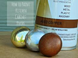 how to paint kitchen knobs easy kitchen update how to paint cabinet knobs