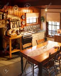 kitchen of an old cottage kitchen lovingly restored the cottage