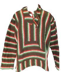 baja sweater threaded hoodie on the hunt
