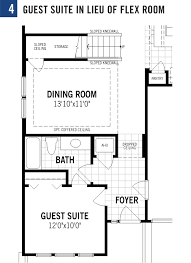 Flex Room Aralia Plan At Bartram Park Preserve In Jacksonville Florida By