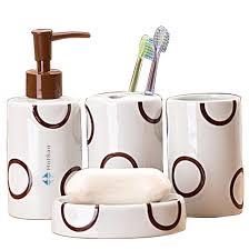 hotsan bathroom set for home gift ceramic bath ideas four pieces