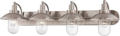 Minka Lavery 5133 84 Three Light Bath Amazon Com 5 Light Bathroom Vanity Fixture