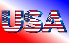 Us Flag Vector Free Download Clipart Usa Flag Typography
