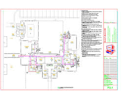 autocad plumbing drafting samples
