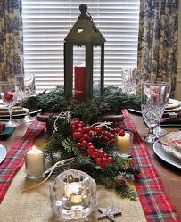 ideas how to decorate christmas table 35 cozy plaid décor ideas for christmas digsdigs
