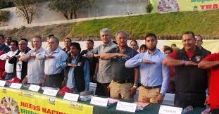 presidente inaugura segunda fase de los juegos inaugura reyes soberanis los juegos nacionales de los trabajadores