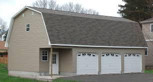 3 door garage detached attic three car garage sheds unlimited