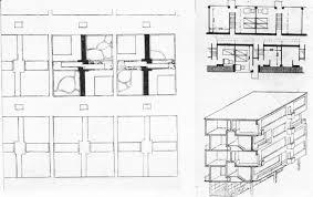 Housing Plan V Lavrov Diploma Project On The Theme Of The New City Studio Of