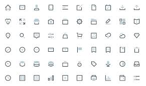 60 free outline icon sets perfect for contemporary designs u2013 learn