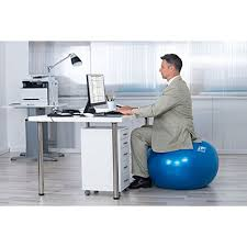 Office Chair Workout 2000lbs Exercise Stability Ball By Ritfit Anti Burst For Pilates