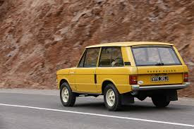 brown range rover land rover range rover 3 door 3 5 v8 4x4 manual 132hp 1970