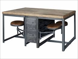 wood metal desk living room fabulous rustic wood office furniture modern rustic