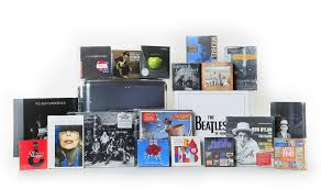 reviews of an array of new cd boxed sets covering many musical