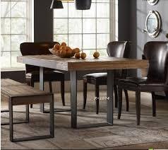 bureau fer forgé meubles en bois massif fer forgé bois table vintage bureau banc