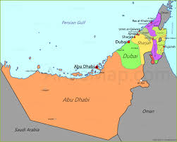 Map Of Abu Dhabi Uae Map Map Of United Arab Emirates Annamap Com