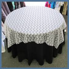 Lace Table Overlays Table Overlay Floral Lace 58 X 58 Inches Square Tablecloth Cover