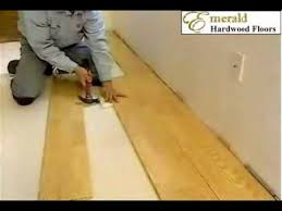 floating floor installation for engineered hardwood flooring