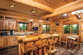 interior of log homes the great northern escape in a montana log home