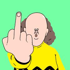 Middle Finger Meme Gif - reaction middle finger gif find download on gifer