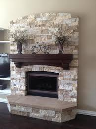 Mantel Ideas For Fireplace by 34 Beautiful Stone Fireplaces That Rock Stone Fireplaces Stone