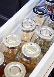 How To Organize Food In Kitchen Cabinets How To Organize Spices In A Drawer Ask Anna