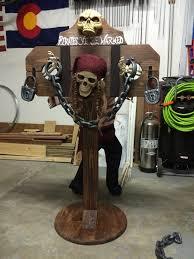 pirate halloween haunt stockade halloween decoration ideas