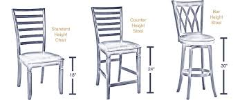 Dining Table Chairs Height Dining Heights