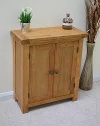 Small Two Door Cabinet Beaufort Oak Two Door Linen Cupboard Small Sideboard Cabinet