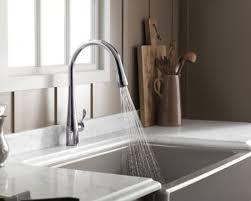 kohler simplice kitchen faucet kohler k 596 cp simplice single pulldown kitchen faucet